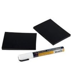 "American Metalcraft Mini Chalk Board, 4"" x 6"""