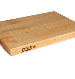 """John Boos Cutting Board, Maple, 18"""" x 12"""" x 1-1/2"""""""