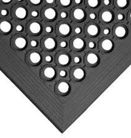 "Apex Rubber Mat, 3' x 5' x 1/2"", Black"