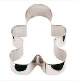 """Paderno Gingerbread Man Cookie Cutter, 3-1/8"""" x 2-3/8"""""""