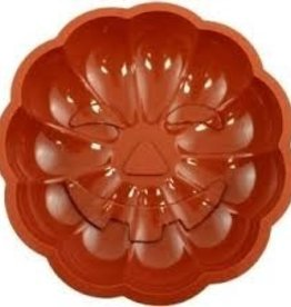 "Paderno Silicone Bakeware, Pumpkin, 8-5/8"""