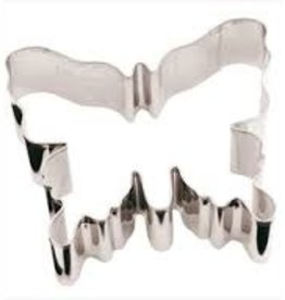 """Paderno Butterfly Cookie Cutter, 2-3/4"""" x 3-1/8"""""""