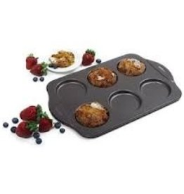 Norpro Muffin Top Pan, 6 Cavities