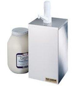 San Jamar Condiment Pump Box, 1 Gal.