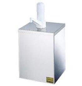 San Jamar Condiment Pump Box, #10 Can