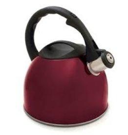 Norpro Tea Kettle, Red, 2-3/4 Qt
