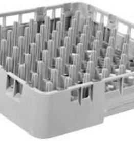 "Cambro Dishwasher Peg Rack, Gray, 9"" x 9"" x 4"""