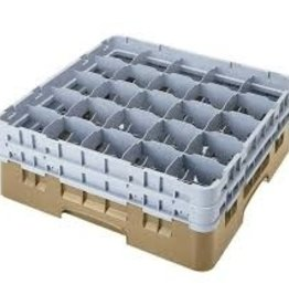 Cambro Dishwasher Rack, 25 Comp, Biege
