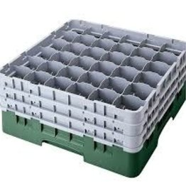 Cambro Dishwasher Rack, 36 Comp, Sherwood Green