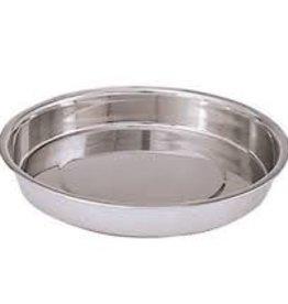 "Admiral Craft Cake Pan, S/S, 9.75"" x 1.5"""