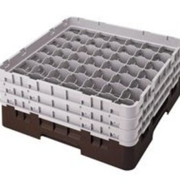 Cambro Dishwasher Rack, 49 Comp, Brown