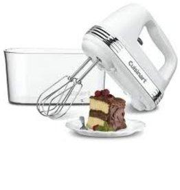 Cuisinart Hand Mixer w/Case, 9 Speed