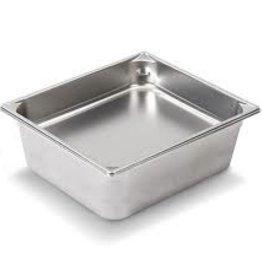 "Vollrath Steam Table Pan, S/S, Half, 6"" Deep"