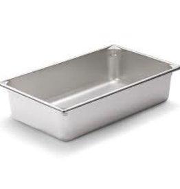 "Vollrath Steam Table Pan, S/S, Full, 4"" Deep"
