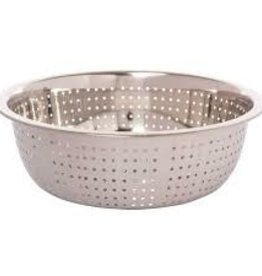 "Thunder Group Chinese Colander, 11"" Dia, 2.0mm Holes"
