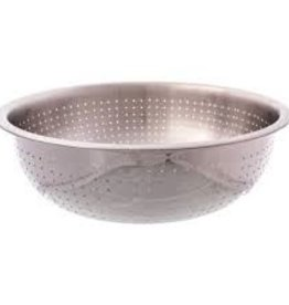 "Thunder Group Chinese Colander, 15"" Dia, 2.0mm Holes"