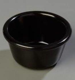 Winco Melamine Ramekins, Black, 6 oz (1 Doz)