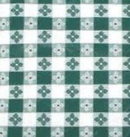 """Winco Square Table Cloth, Green, 52"""" x 52"""""""