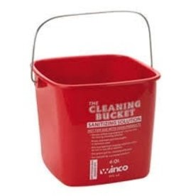 Winco Sanitizing Bucket , 6 Qt