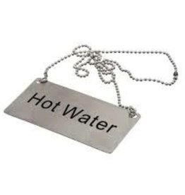"Update International Chain Sign, S/S, ""Hot Water"""