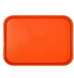 "Thunder Group Fast Food Tray, 10-1/2"" x 13-1/2"", Orange"