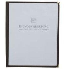 "Thunder Group Single Menu Cover, 8-1/2"" x 11"""