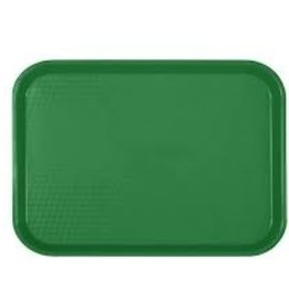 "Thunder Group Fast Food Tray, 14"" x 17-3/4"", Green"