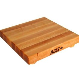 "John Boos Cutting Board, Maple, 12"" x 12"" x 1-1/2"""