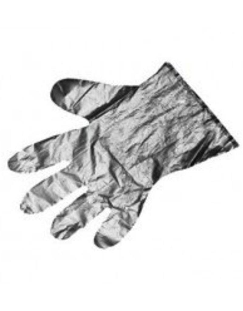 Johnson Rose Disposable Poly Gloves, Large