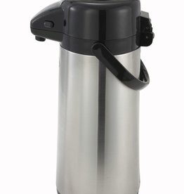 Winco Airpot w/Push Button, 3 Liter