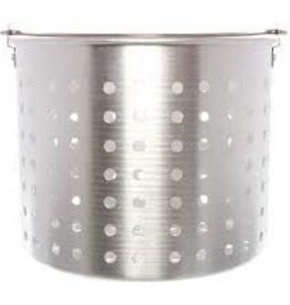 Thunder Group Steamer Basket, Alum, 16 Qt