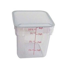 Thunder Group Food Storage Container, 4 Qt