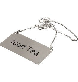 "Update International Chain Sign, S/S, ""Iced Tea"""
