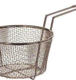 "Update International Fryer Basket, Nickel Pltd, 8-1/2"" Dia"