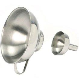 """Norpro Funnel w/Removable Spout, S/S, 5-1/4"""""""