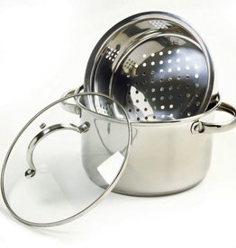 Norpro Steamer/Cooker, S/S, 4 Qt