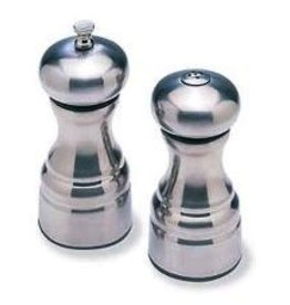 Olde Thompson Salt & Pepper Set, S/S