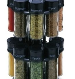 Olde Thompson Spice Rack, 16 (3oz) Jars