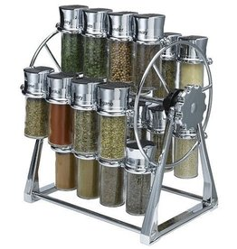 Olde Thompson Ferrie Wheel Spice Rack, 20 (3oz) Jars