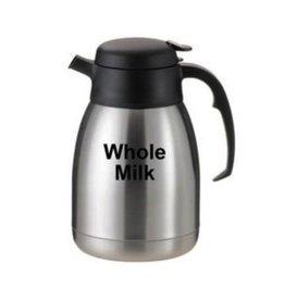 "Service Ideas Carafe, ""Whole Milk"", 1.5 Liter"