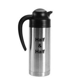 "Service Ideas Carafe, ""Half & Half"", 1 Liter"