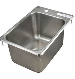 "BK Resources Hand Sink, 10"" x 14"" x 10"""