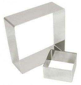 """Fat Daddio's Cake Ring, Square, 4-1/4"""" x 2"""""""