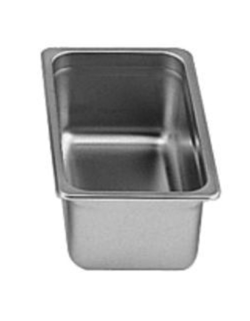 "Thunder Group Steam Table Pan, S/S, 1/3 Size, 4"" Deep"