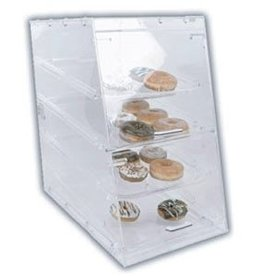 "Thunder Group Display Case, 4 Tray, 14"" x 24"" x 24"""