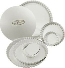 """Fat Daddio's Tart Pans (1 Doz), 6-1/2"""" x 1"""""""
