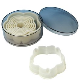 Fat Daddio's Cookie Cutter Set, 8 Pcs