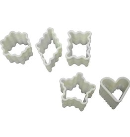 Fat Daddio's Cookie Cutter Set #1, Petit Four