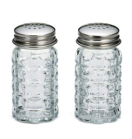 Tablecraft Glass Salt & Pepper Shaker, 1-1/2oz