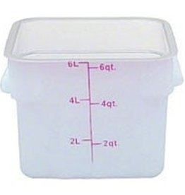 Thunder Group Food Storage Container, 6 Qt